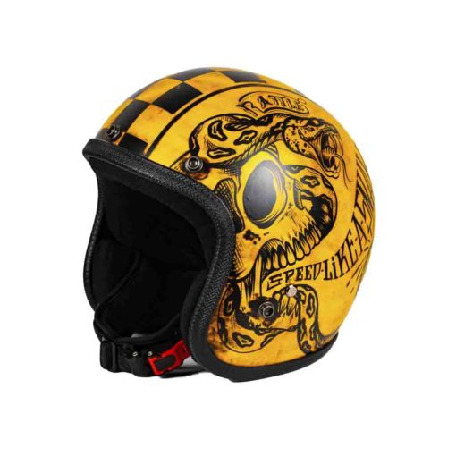70's Helmets Skull Garage - Profile