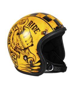 70's Helmets Skull Garage