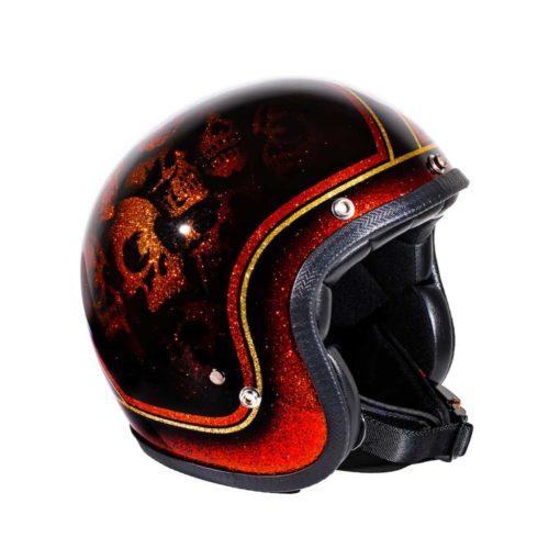 70's Helmets Skulls & Flash - Profile