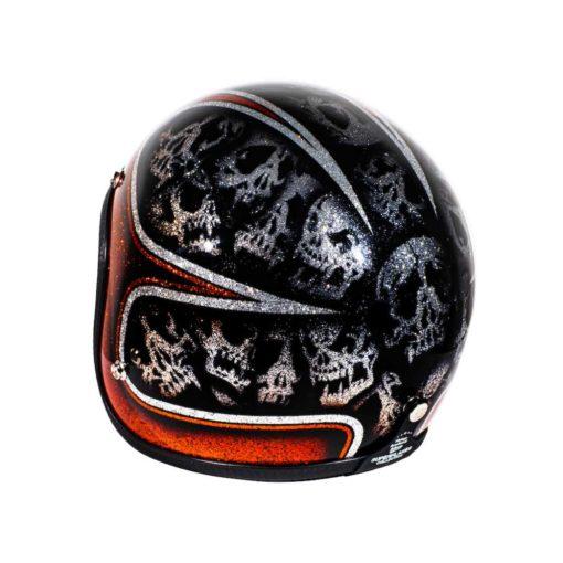 70's Helmets Skulls & Scallops - Left