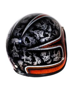 70's Helmets Skulls & Scallops - Right