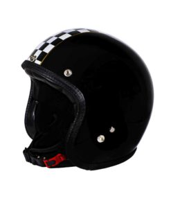 70's Helmets Superflat Checkered Black - Profile