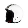70's Helmets Superflat Checkered White - Profile