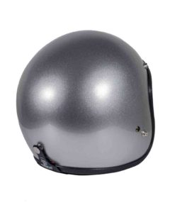 70's Helmets Superflat Classic Silver - Back Right