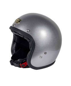 70's Helmets Superflat Classic Silver - Profile