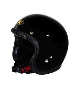70's Helmets Superflat Glossy Black