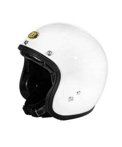 70's Helmets Superflat Glossy White