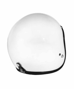 70's Helmets Superflat Glossy White - Back Right