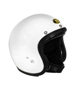 70's Helmets Superflat Glossy White - Profile