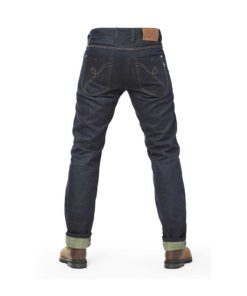 Fuel Greasy Selvedge Pants - Back