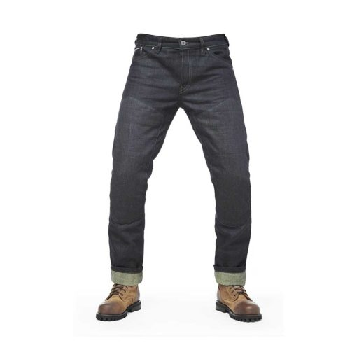 Fuel Greasy Selvedge Pants - Front