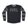 Fuel Grey Stripes Enduro Jersey - Front