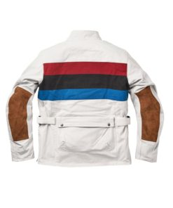 Fuel Rally Raid Jacket White - Back