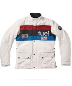 Fuel Rally Raid Jacket White - Front