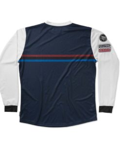 Fuel Rally Raid Jersey Blue - Back