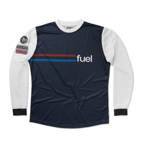 Fuel Rally Raid Jersey Blue - Front