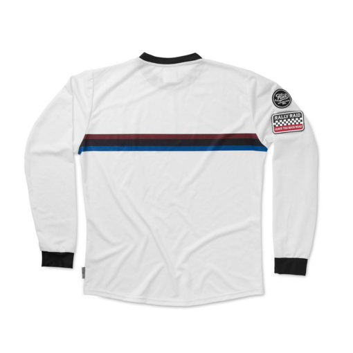 Fuel Rally Raid Jersey White - Back