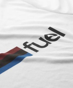 Fuel Rally Raid Jersey White - Logo
