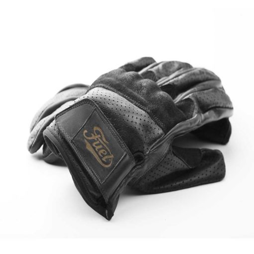 Fuel Rodeo Glove Black - Front