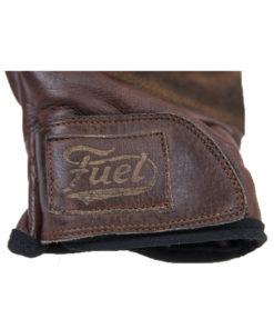Fuel Rodeo Glove Brown - Logo