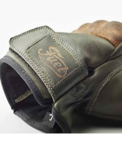 Fuel Rodeo Glove Olive - Logo