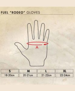 Fuel Rodeo Gloves-side Chart