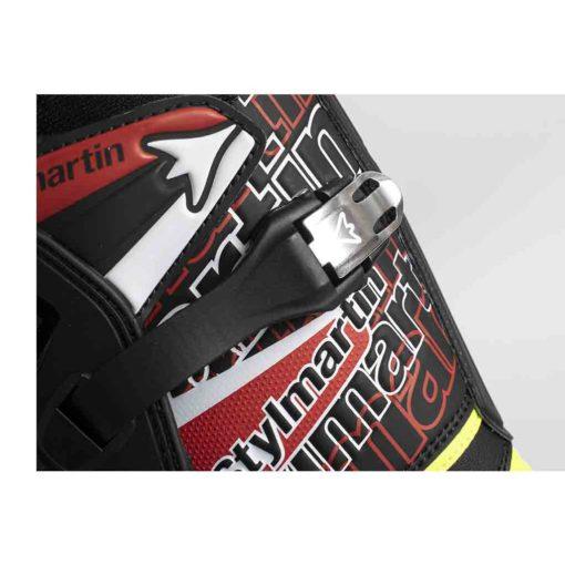 Stylmartin Impact Pro Black Fluo - Adjustable - Straps