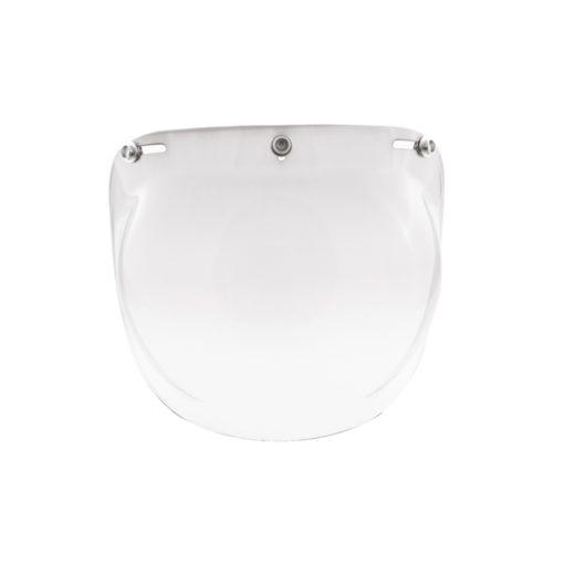 70's Helmets Bubble Fixed Graduaded Smoked - Front