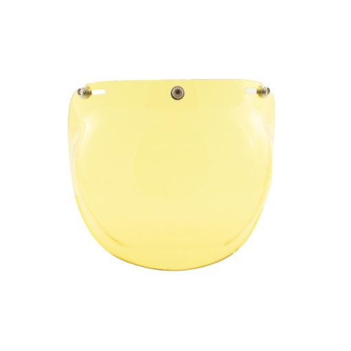 70's Helmets Bubble Fixed Yellow - Front