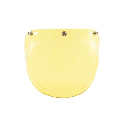 70's Helmets Bubble Fixed Yellow - Front