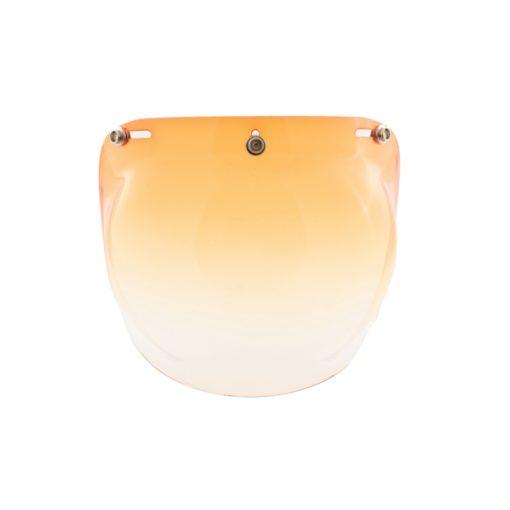 70's Helmets Bubble Graduated Orange - Front