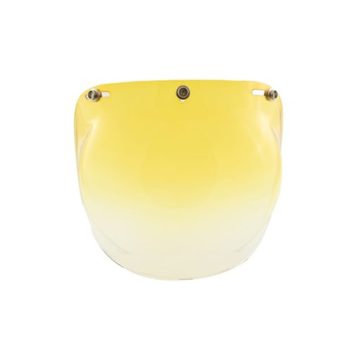 70's Helmets Bubble Graduated Yellow - Front