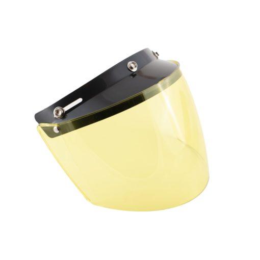 70's Helmets Flip Up Yellow