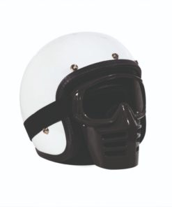70's Helmets Off Road Mask Black