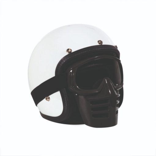 70's Helmets Off Road Mask Black