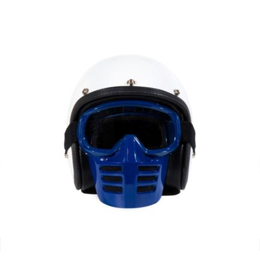 70's Helmets Off Road Mask Blue - Front
