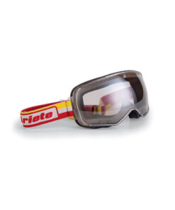 Ariete Feather Goggles Yellow Red