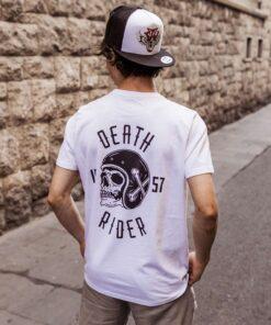 Death Rider T-Shirt - White