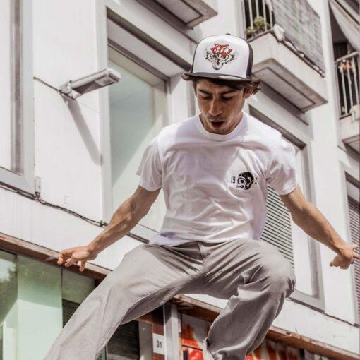 Death Rider T-Shirt - White Front