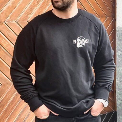 Skull Sweatshirt Death Rider - Black