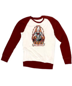 Sweatshirt Baseball Save Loud Pipes - Garnet Product