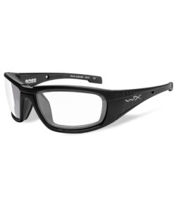 Wiley X Boss Clear Matte Black Frame