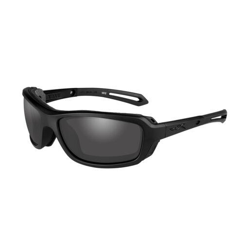 Wiley X WAVE Smoke Grey Matte Black Frame