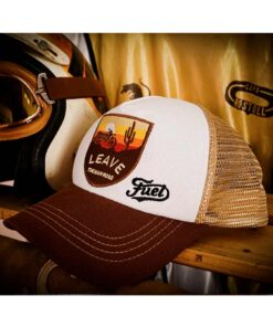 Fuel Rally Raid Cap Brown - Profile