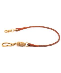 70's Biker Wallet Rope - Light Brown