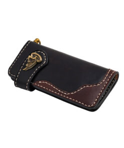 70's Wallet 2 Tones - Black