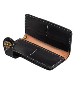 70's Wallet 2 Tones - Black Interior