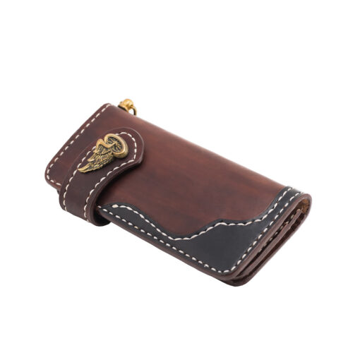 70's Wallet 2 Tones - Brown