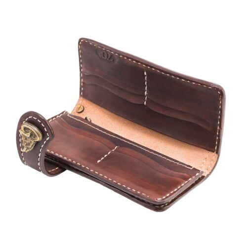 70's Wallet 2 Tones - Brown Interior
