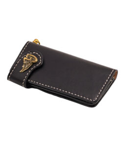 70's Wallet Long Flat - Black